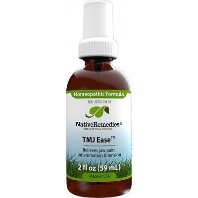 Native Remedies - TMJ Ease (3 Bottles)