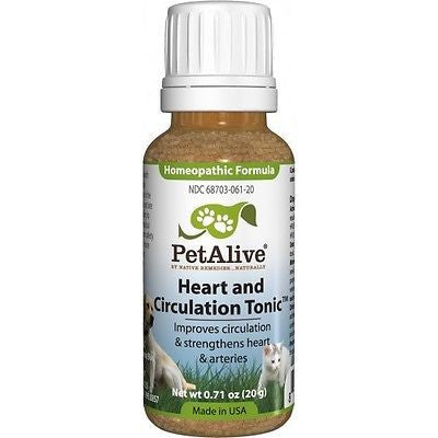 PetAlive - Heart and Circulation Tonic (3 Bottles)