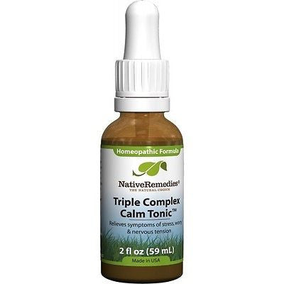 Native Remedies - Triple Complex Calm Tonic (6 Bottles)