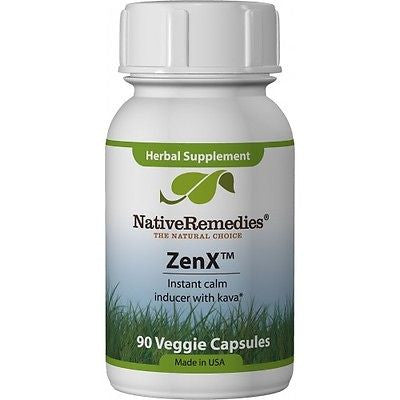Native Remedies -  ZenX (3 Bottles)