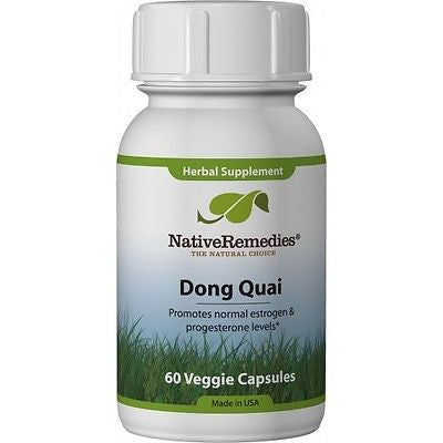 Native Remedies - Dong Quai (3 Bottles)