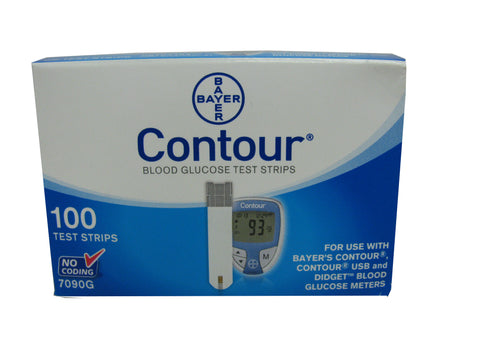 Bayer Contour Retail 100ct Box