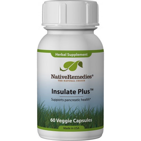 Native Remedies -  Insulate Plus (3 Bottles)