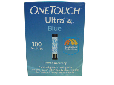 One Touch Ultra Blue Retail 100ct Box