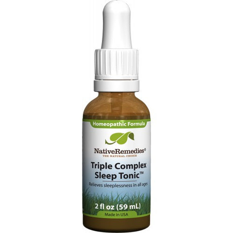 Native Remedies - Triple Complex Sleep Tonic (6 Bottles)
