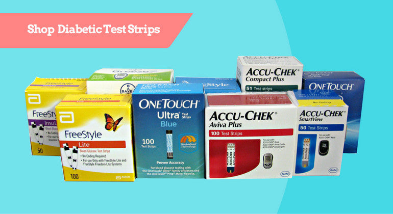 Shop Diabetic Test Strips