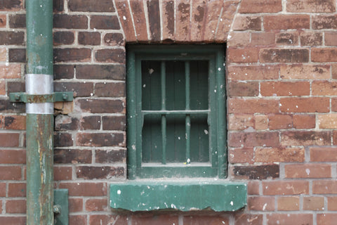 Green Pipe and Window