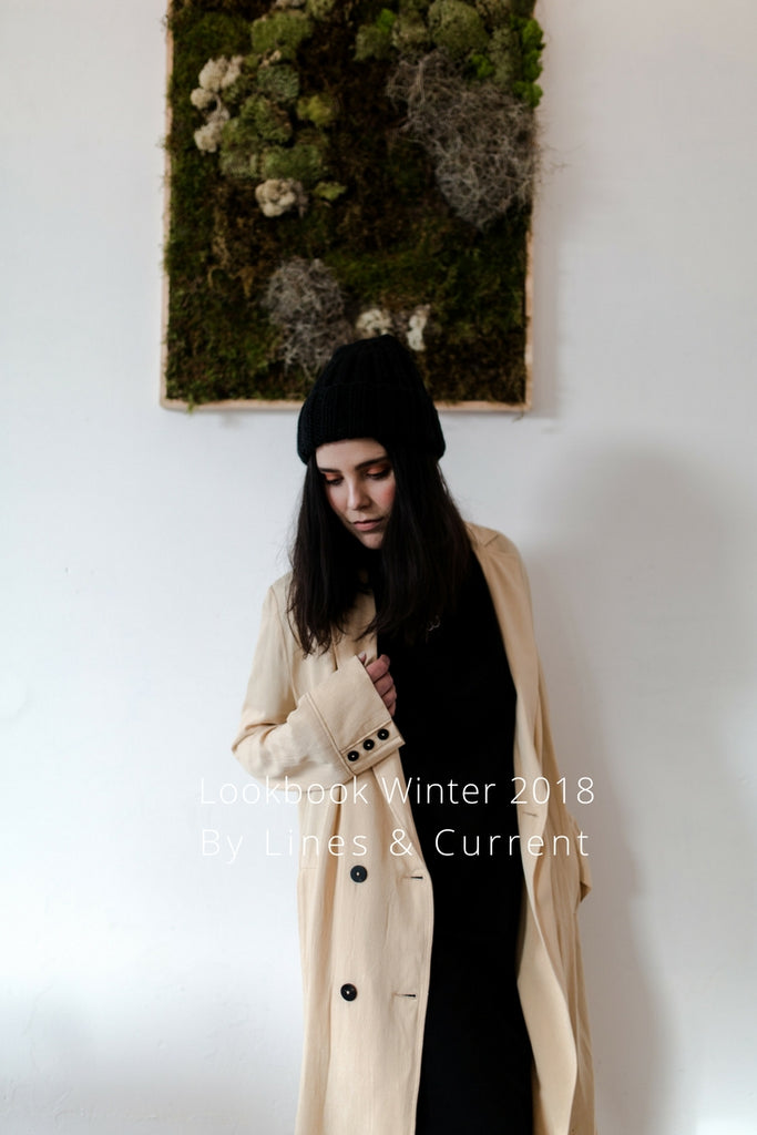 Look book Winter 2018 by Lines & Current Pin