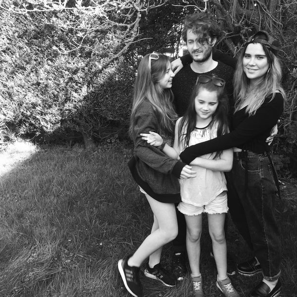 Ruth with her daughters & husband Mike