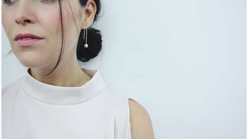 blog talking about the new aw minimal jewellery collection by lines and current
