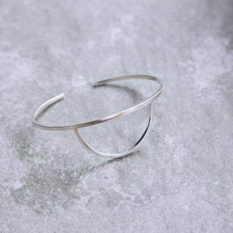 'Odessa' - Half Circle Cuff Bangle