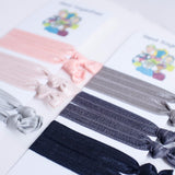 snag free, hair ties, ribbons, collaboration in two palettes