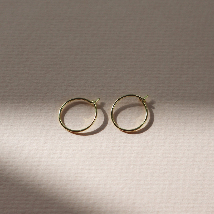 'Hali' Hoops Earrings