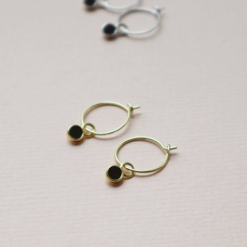 'Hali' Hoops + Mona Charms