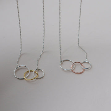 'All That Is Three' Infinity Necklace