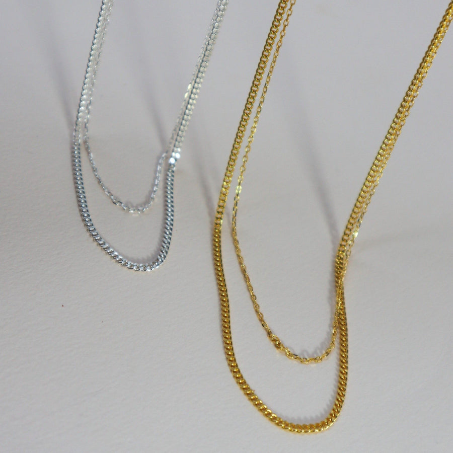 'Freya' Double Strand Necklace
