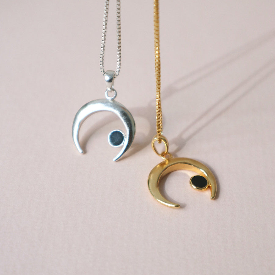 'Goddess' Moon Chain Necklace
