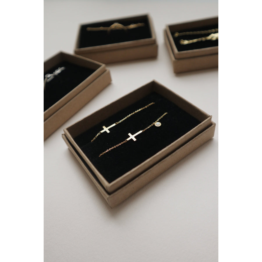 Cross Gift Set (Necklace + Bracelet)