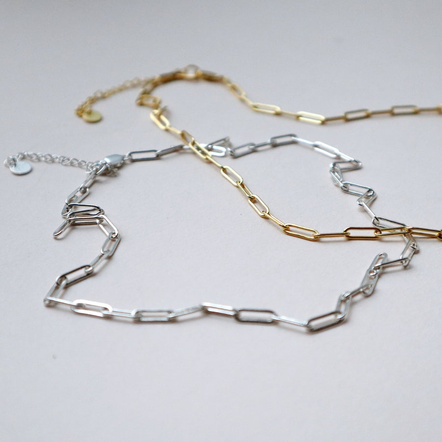 'Essie' Long Link Cable Chain