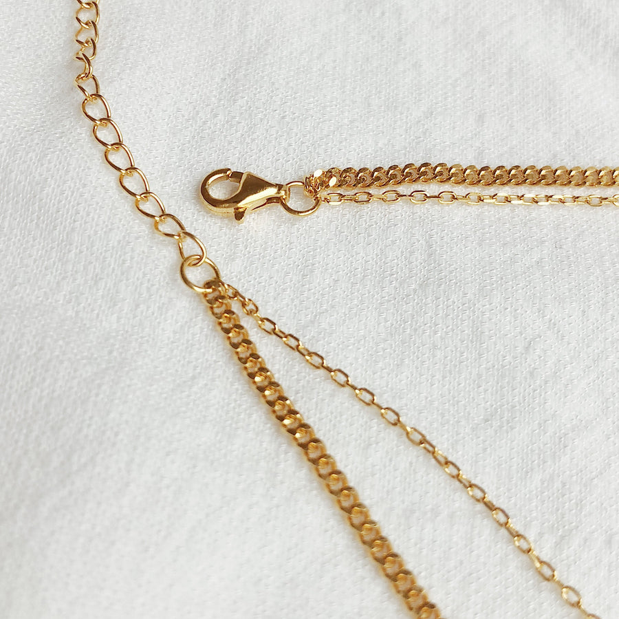 Freya Double Strand Necklace