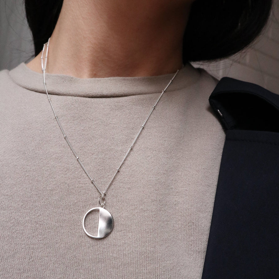 'Moon Sister' Pendant Necklace