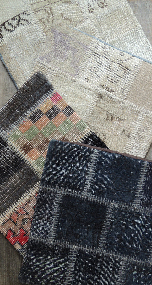 Carpet Patchwork Pillowcase IV - Simple Life Istanbul   - 3