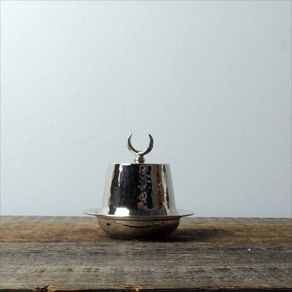 Tinned Copper Fez Lidded Bowl - Simple Life Istanbul   - 1