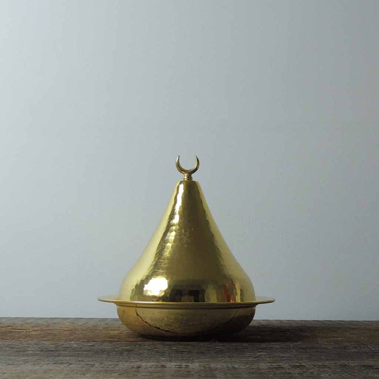 Brass Lidded Bowl - Simple Life Istanbul   - 1