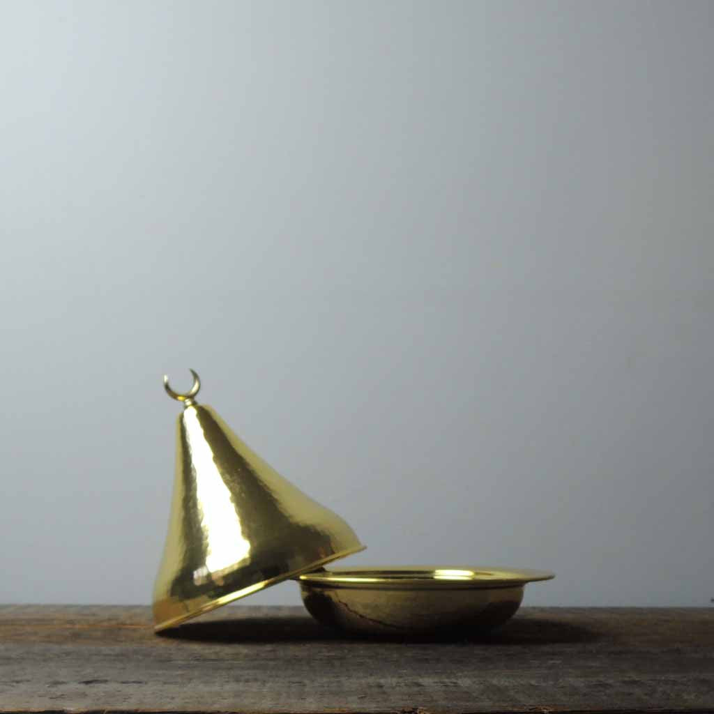 Brass Lidded Bowl - Simple Life Istanbul   - 4