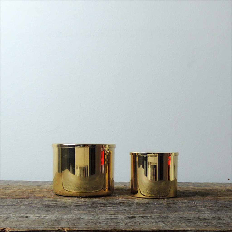 Brass Lidded Canister Set - Simple Life Istanbul   - 1