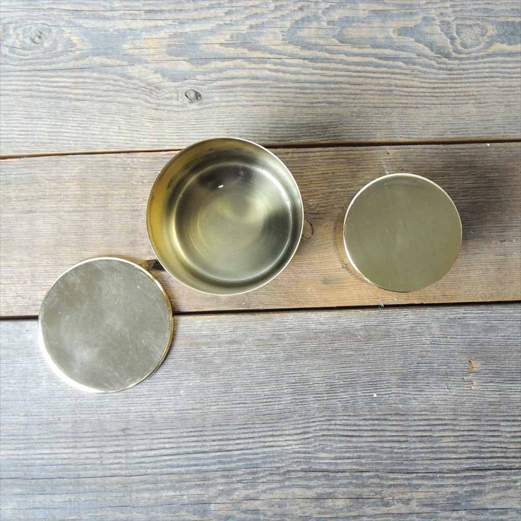 Brass Lidded Canister Set - Simple Life Istanbul   - 2