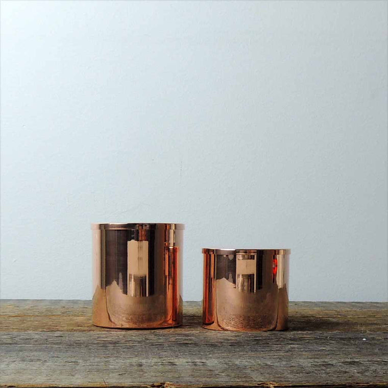 Copper Lidded Canister Set - Simple Life Istanbul   - 1
