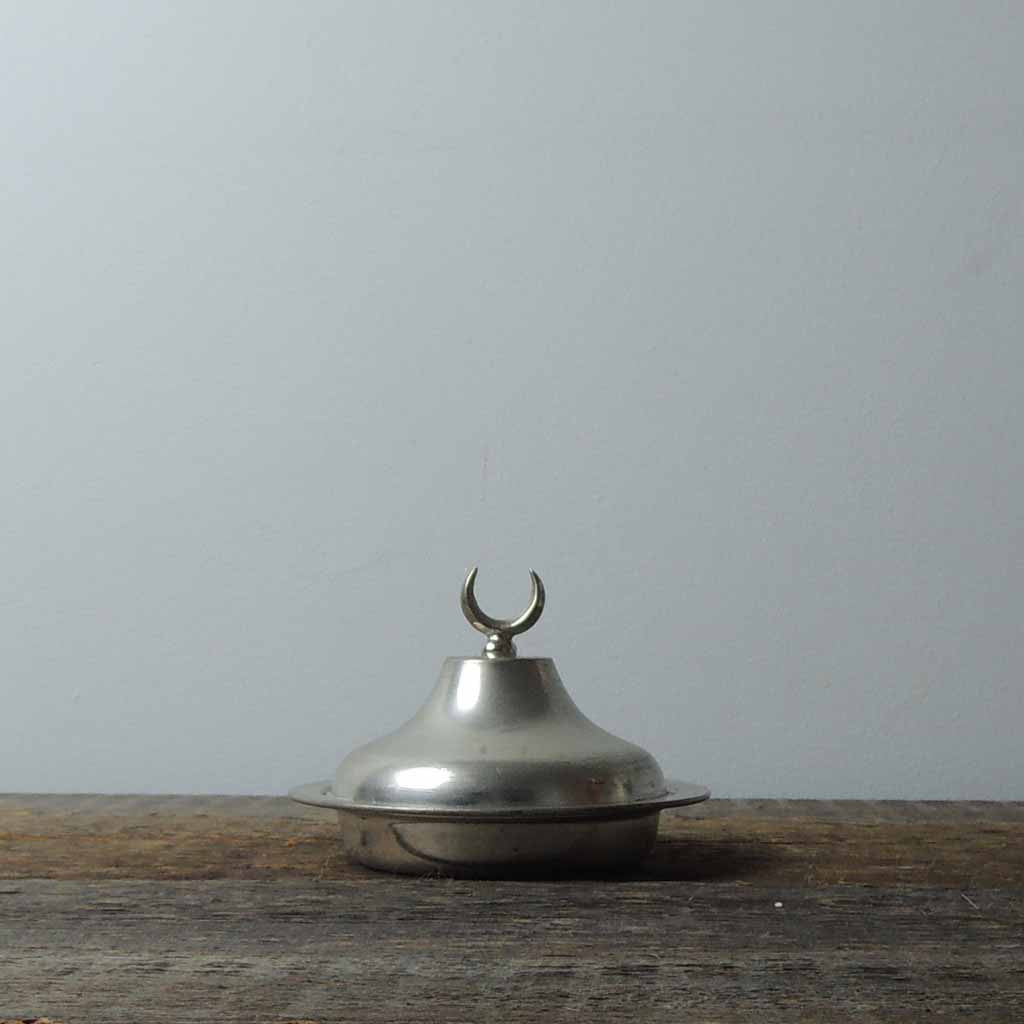 Tinned Copper Lidded Bowl - Simple Life Istanbul   - 1