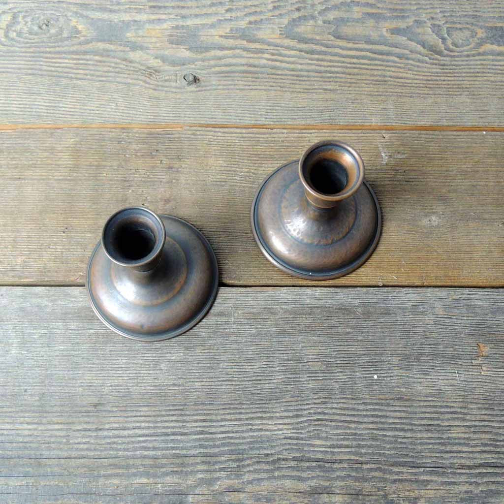 Set of Copper Candle Sticks - Simple Life Istanbul   - 2