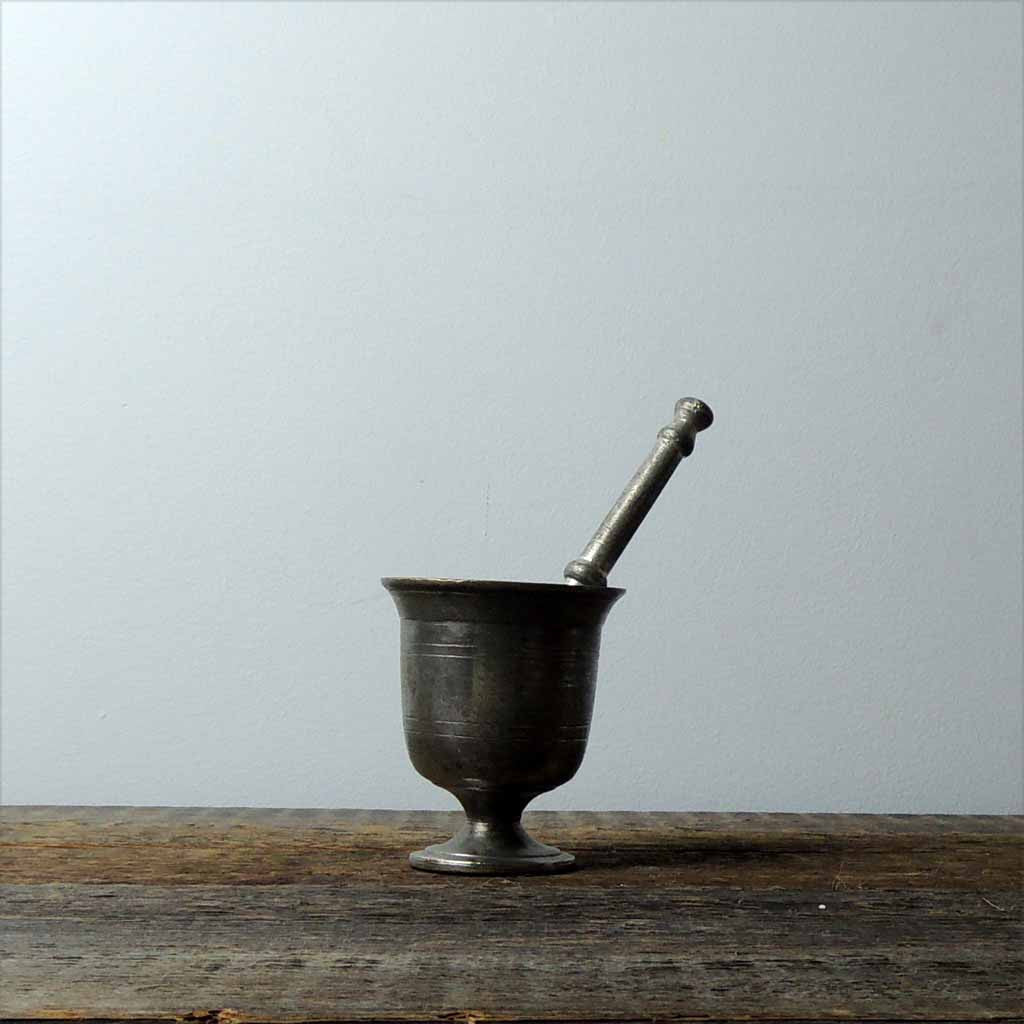 Antique Brass Mortar & Pestel - Simple Life Istanbul   - 1