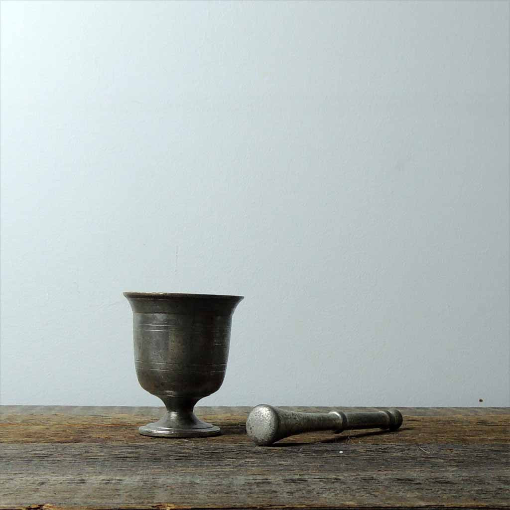 Antique Brass Mortar & Pestel - Simple Life Istanbul   - 2