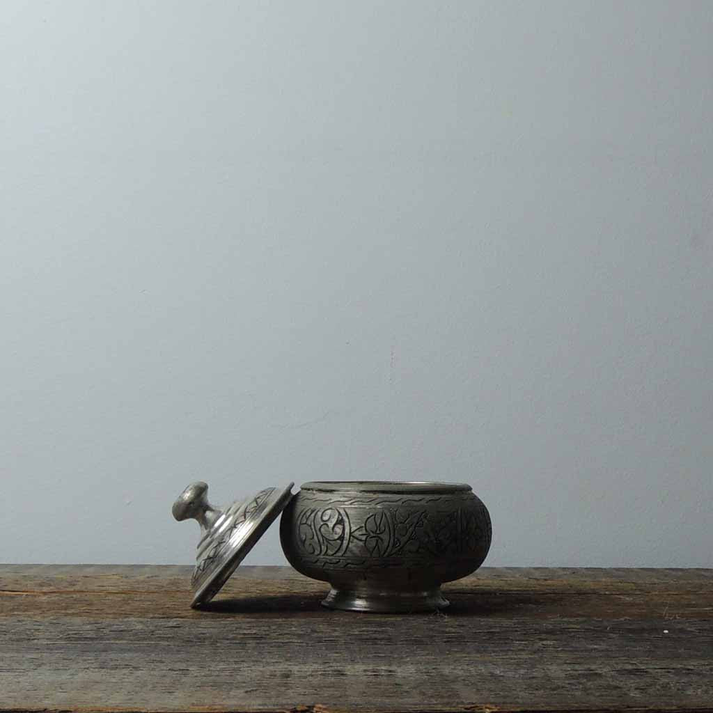 Antique Copper Antep Sugar Bowl - Simple Life Istanbul   - 2