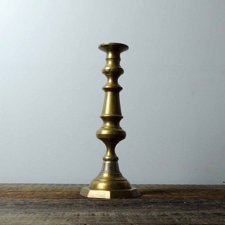 Antique Brass Candlestick - Simple Life Istanbul   - 1