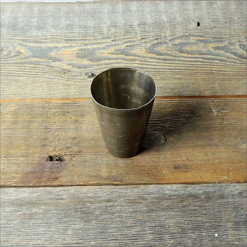 Antique Brass Hac Tumbler - Simple Life Istanbul   - 2