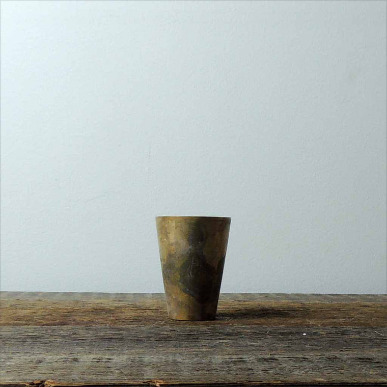 Antique Brass Hac Tumbler - Simple Life Istanbul   - 1