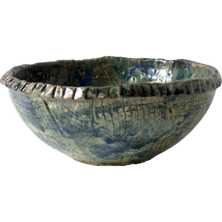 Handmade Hatch Ceramic Bowl - Simple Life Istanbul   - 1