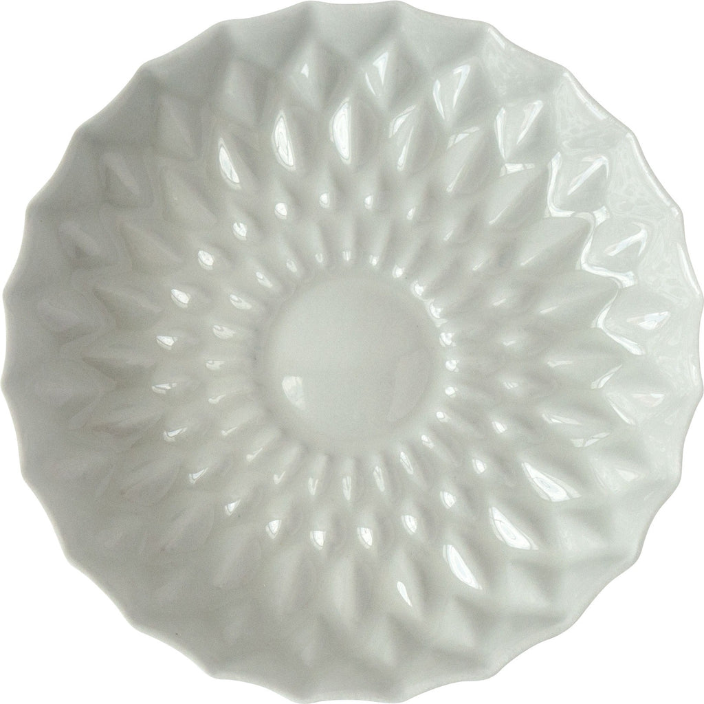 Greige Porcelain Flower Plate - Simple Life Istanbul   - 3