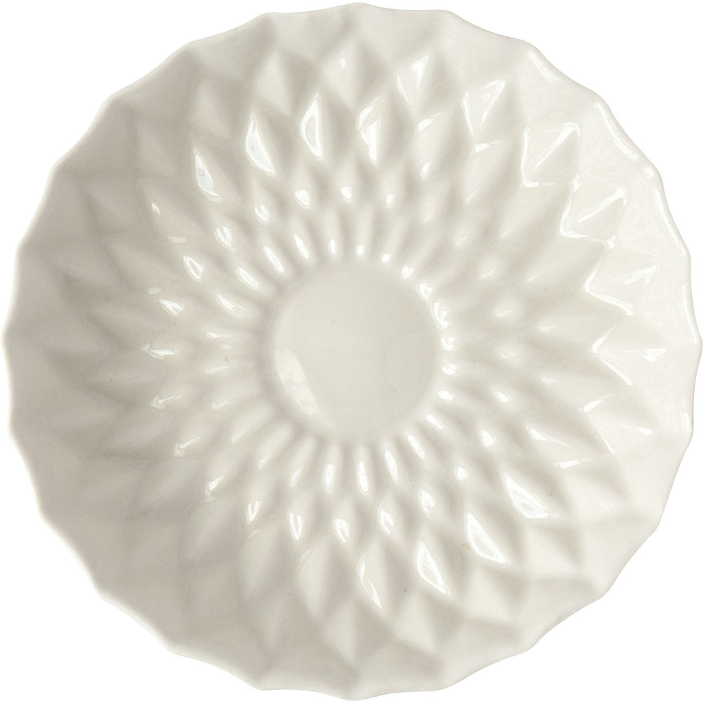 Ivory Porcelain Flower Plate - Simple Life Istanbul   - 2