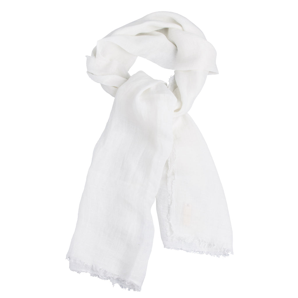 Ivory Linen Shawl - Simple Life Istanbul