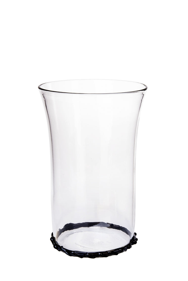 Black Circle Water Glass - Simple Life Istanbul   - 1