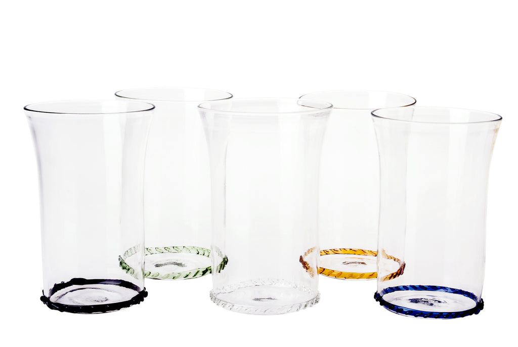 Clear Circle Water Glass - Simple Life Istanbul   - 2