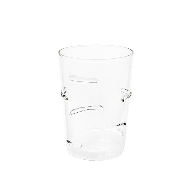 Clear Particle Lines Glass - Simple Life Istanbul   - 1