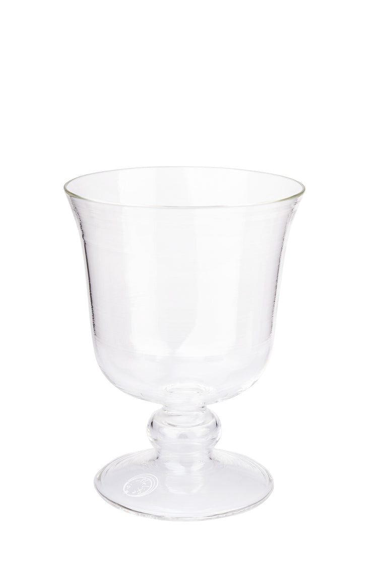 Clear Small Footed Wine Glass - Simple Life Istanbul   - 1