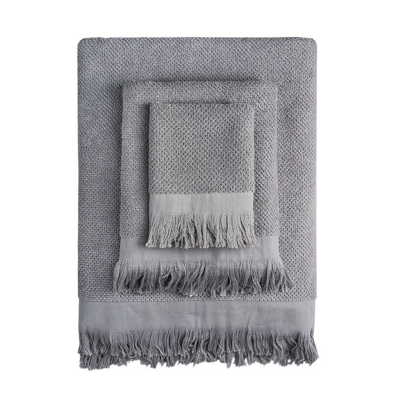 Grey Rice Towels - Simple Life Istanbul   - 1