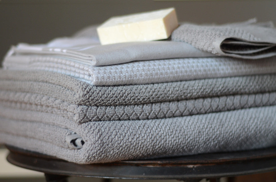 White Mosaic Towels - Simple Life Istanbul   - 5